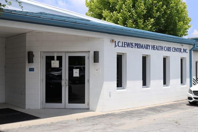 JC Lewis Primary Health Care Center Web